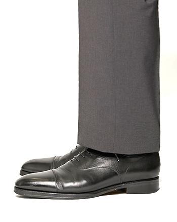 エミネントのメンズスラックス シングル裾