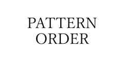 パターンオーダー