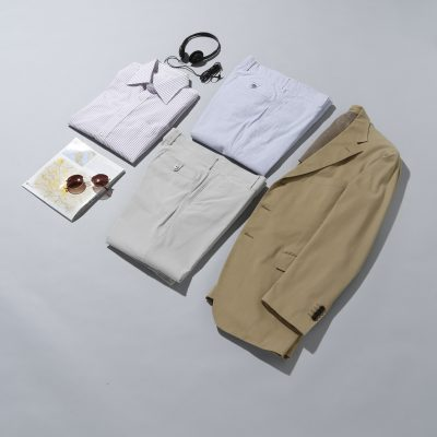 メンズスラックス3選。<br>カジュアルな着こなし方とおすすめ商品をご紹介