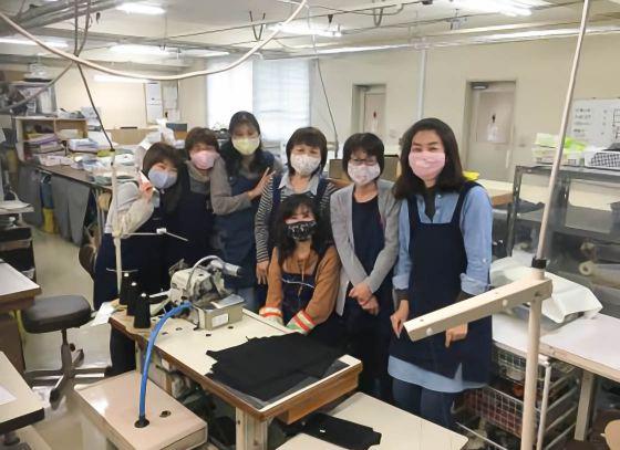 独自の縫製技術を活かし、未来へ進む原動力に。